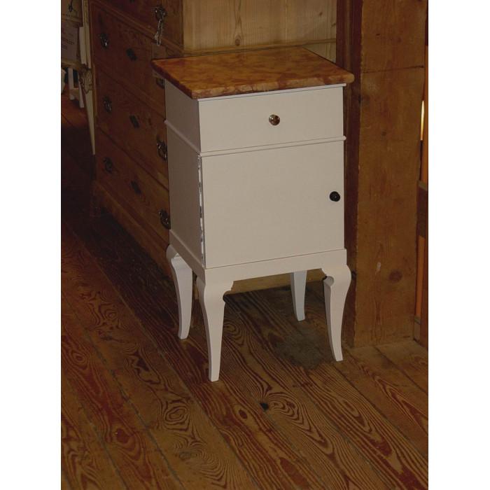 antiker nachttisch shabby chic m bel weiss. Black Bedroom Furniture Sets. Home Design Ideas
