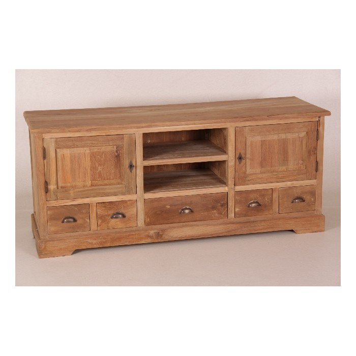 rustikale m bel sideboard teak rustikales sideboard schafreite. Black Bedroom Furniture Sets. Home Design Ideas